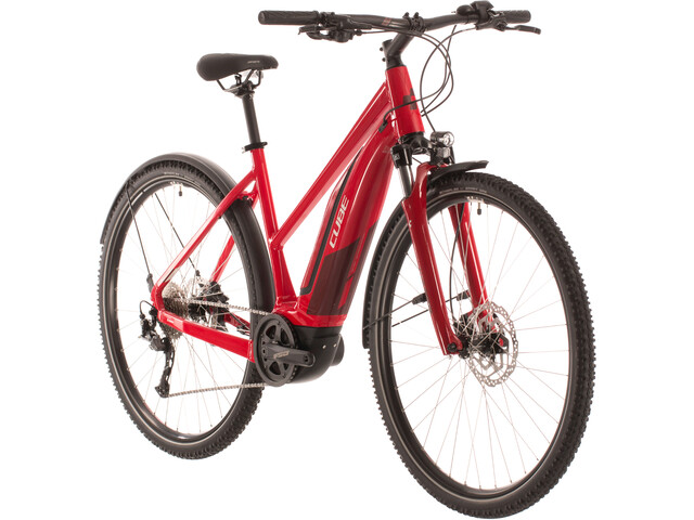 Cube Nature Hybrid One 400 Allroad Trapez, red'n'red